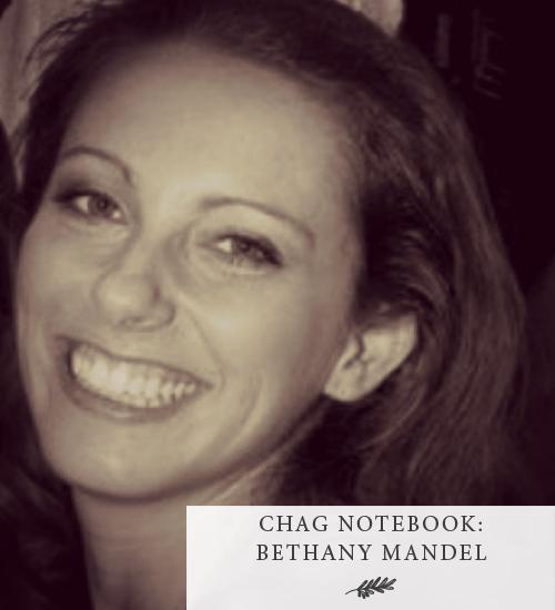 Chag Notebook: Bethany Mandel