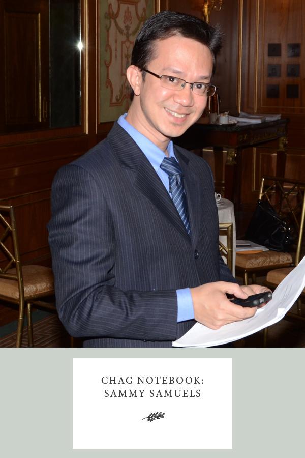 Sammy Samuels Chag Notebook