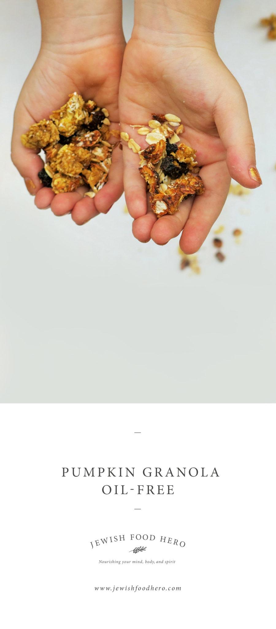 pumpkin-granola oil-free