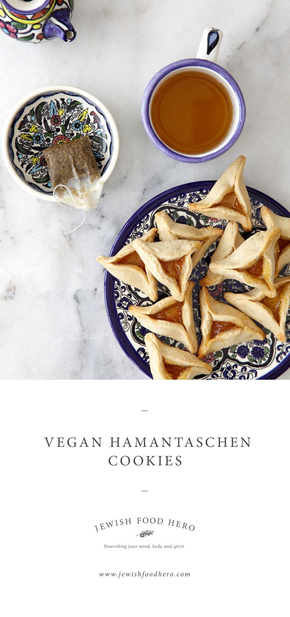 Vegan Hamantaschen Cookies