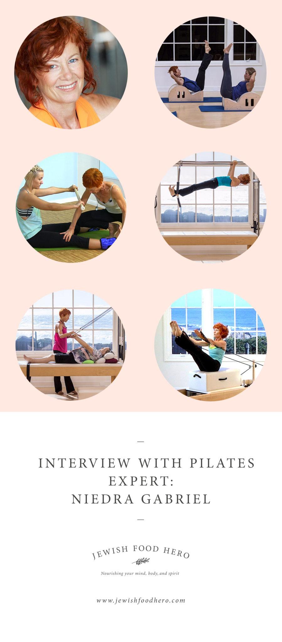 Pilates expert, pilates advice and tips, Niedra Gabriel