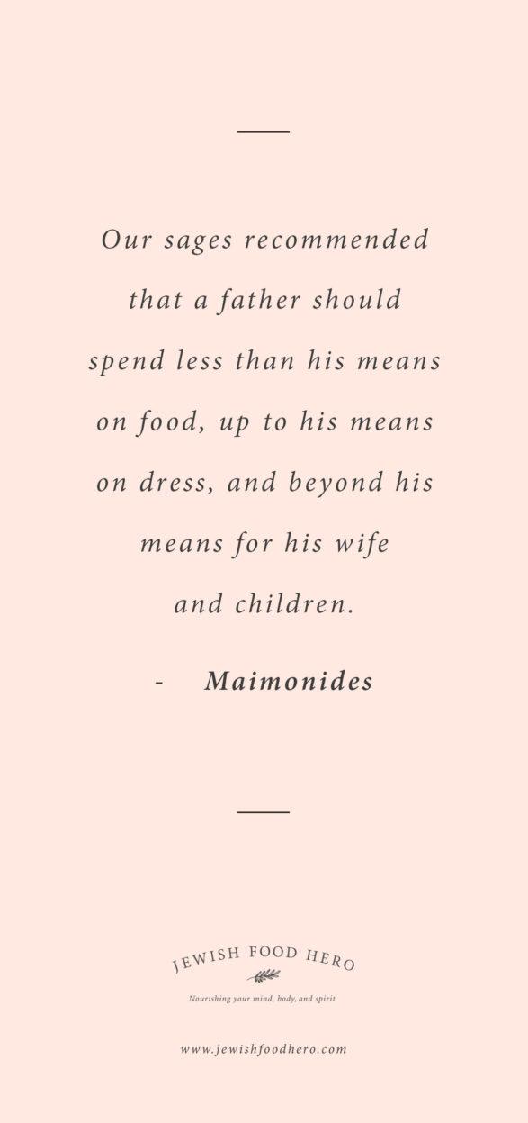 Maimonides Quote