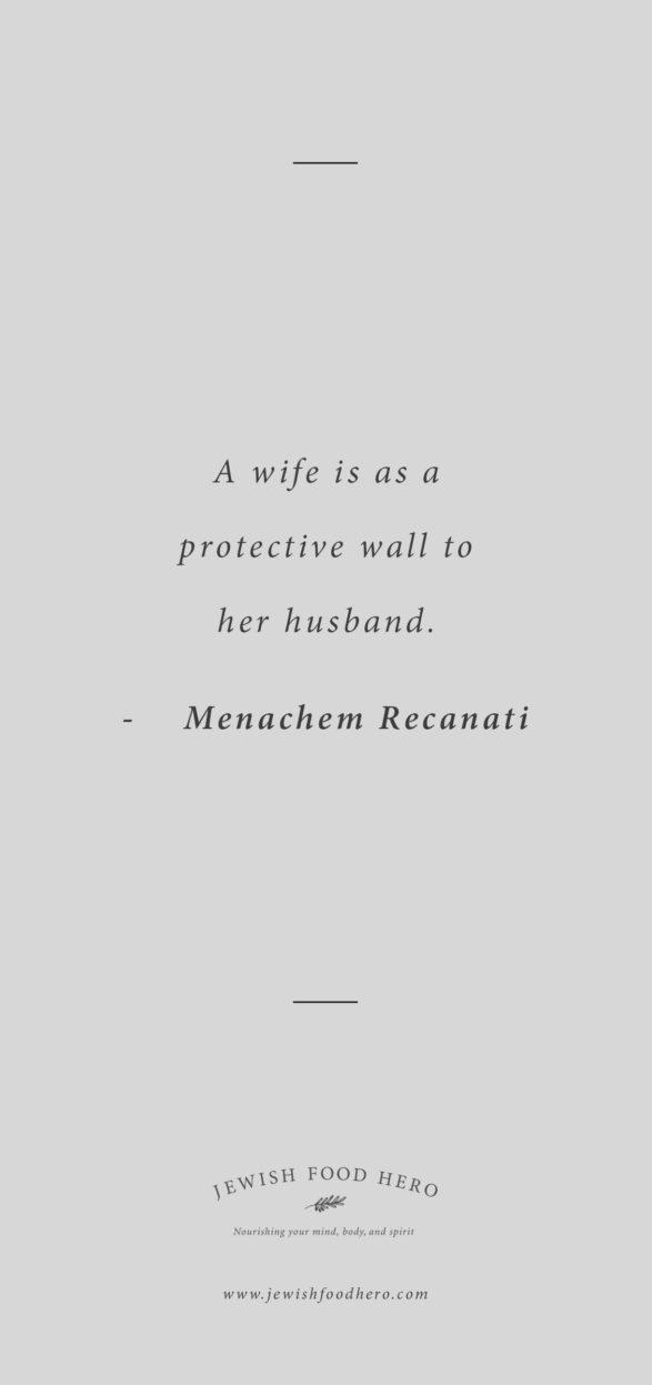 Menachem Recanati Quote