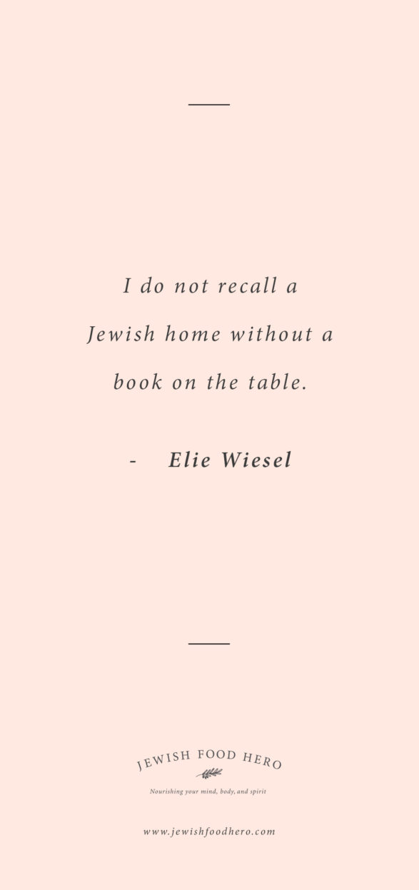 Comforting Jewish Quotes on Home - Elie Wiesel, Pink