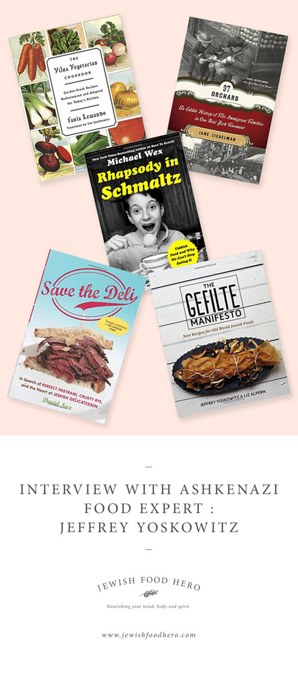 Interview with Ashkenazi Food Expert - Books