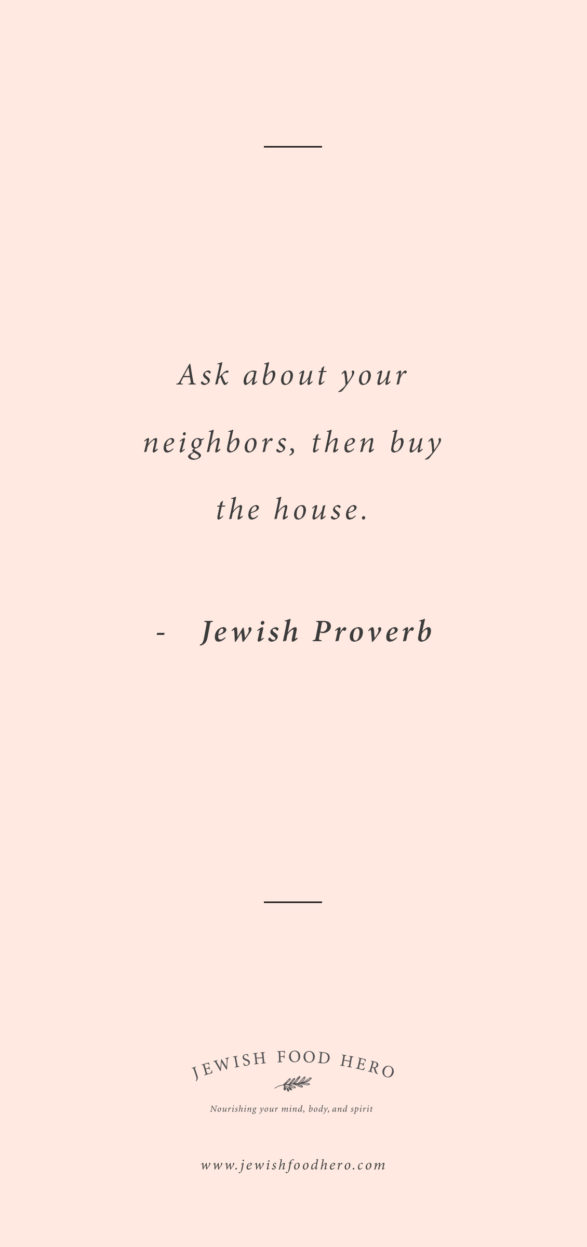 Comforting Jewish Quotes on Home - Jewish Proverb, Pink