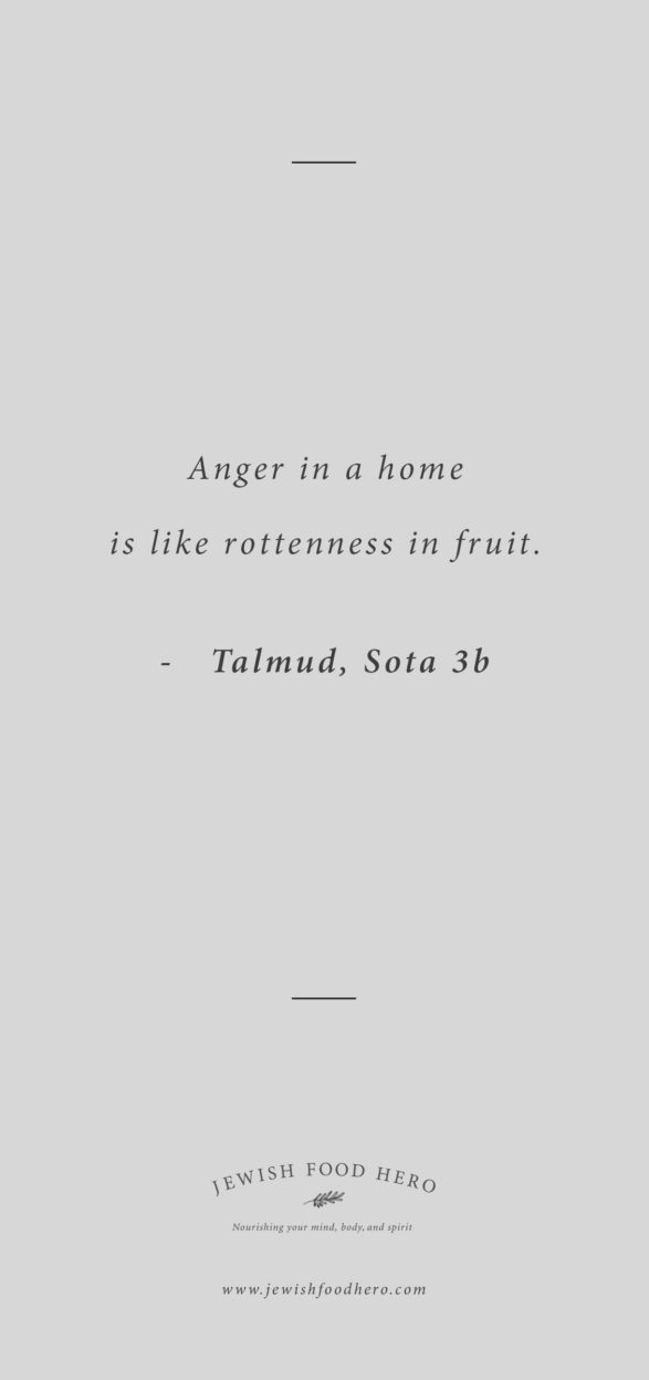 Comforting Jewish Quotes on Home - Talmud Sota 3b, Gray