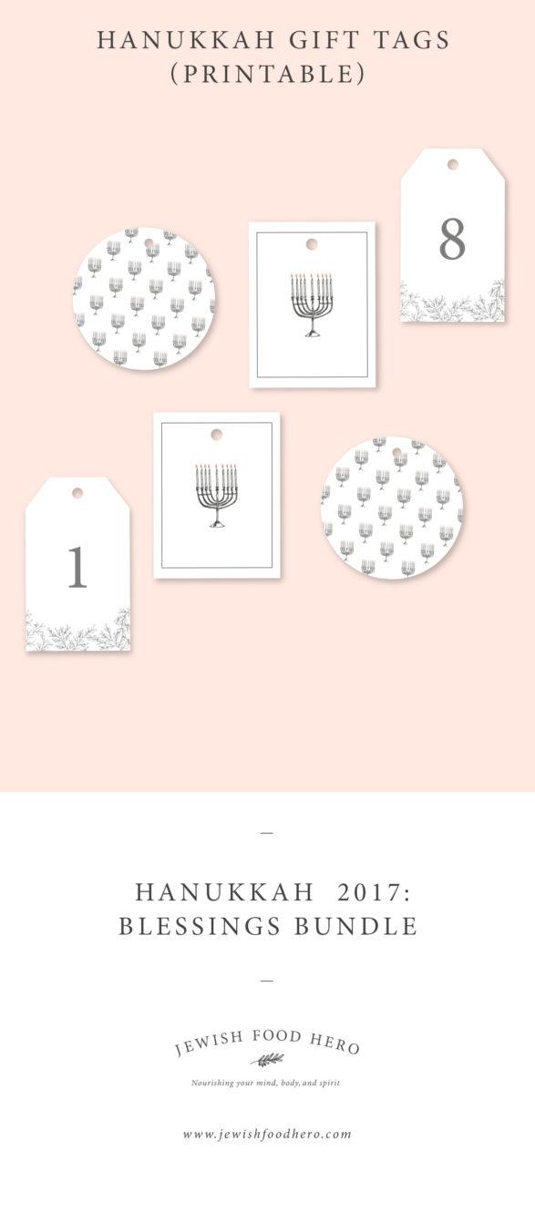 Hanukkah Blessings Bundle - Gift Tags