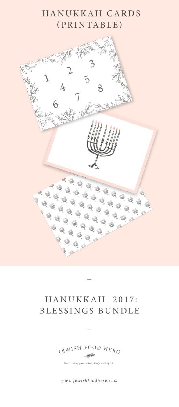 Hanukkah Blessings Bundle - Snail Mail Cards