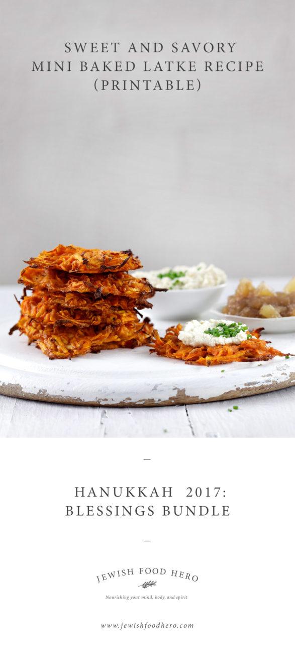Hanukkah Blessings Bundle - Latke Recipe