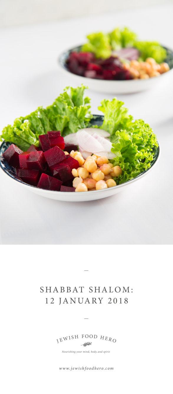 Shabbat Shalom 12 January - Beet Salad