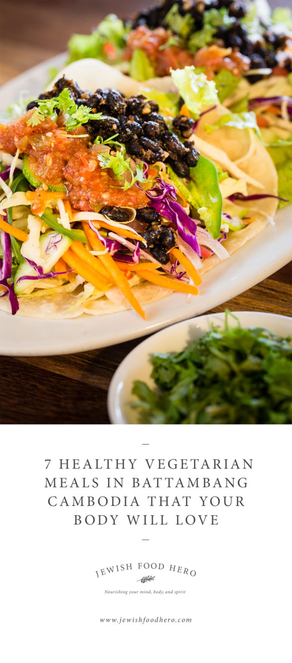 7 Healthy Vegetarian Meals In Battambang Cambodia - Kinyei