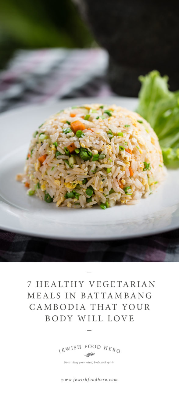 7 Healthy Vegetarian Meals In Battambang Cambodia - Coconut LyLy