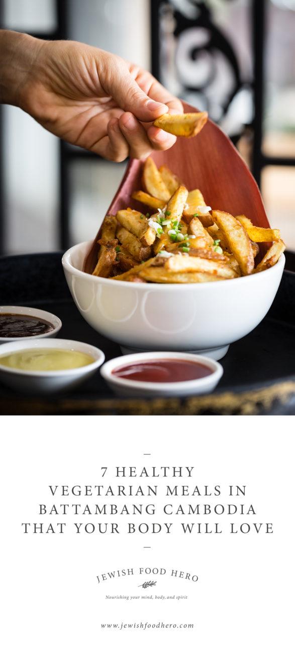 7 Healthy Vegetarian Meals In Battambang Cambodia - Eden Cafe