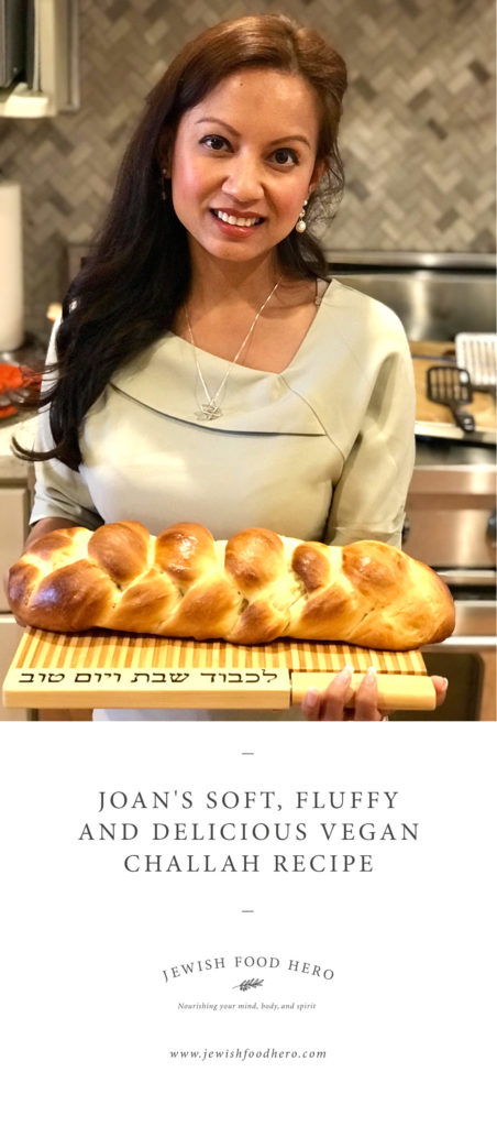 Woman holding bread