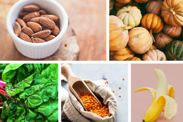 Plant based food rich in magnesium