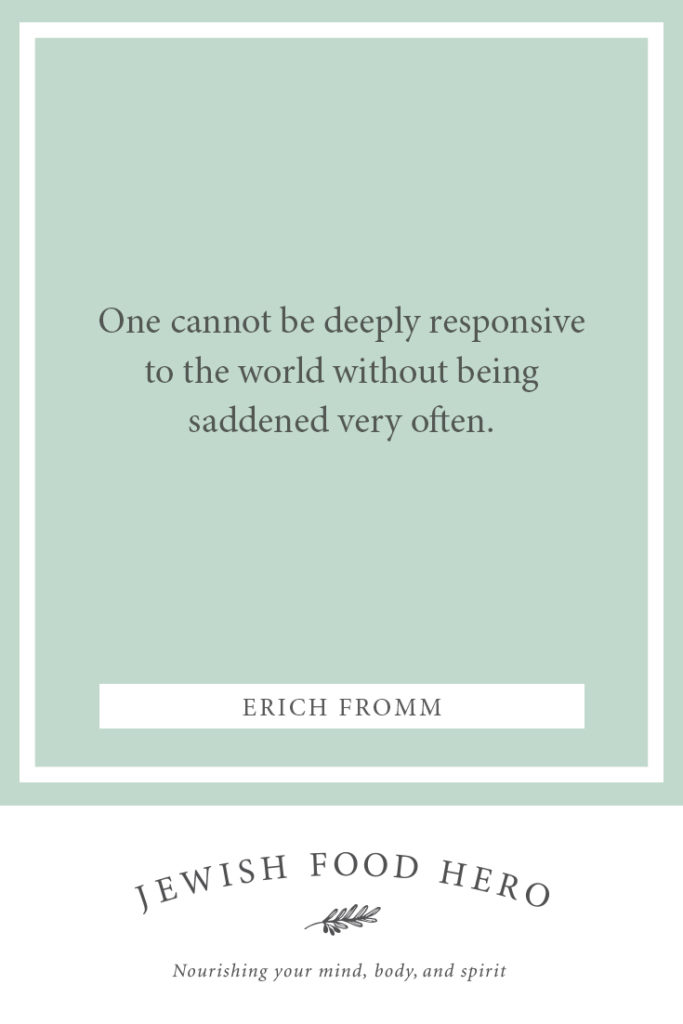 Erich-Fromm-Quote saddened