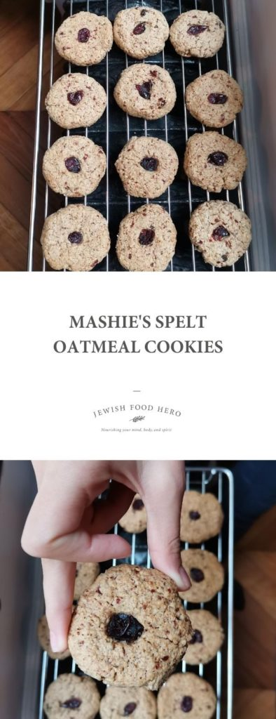 Mashie's Spelt Oatmeal Cookies