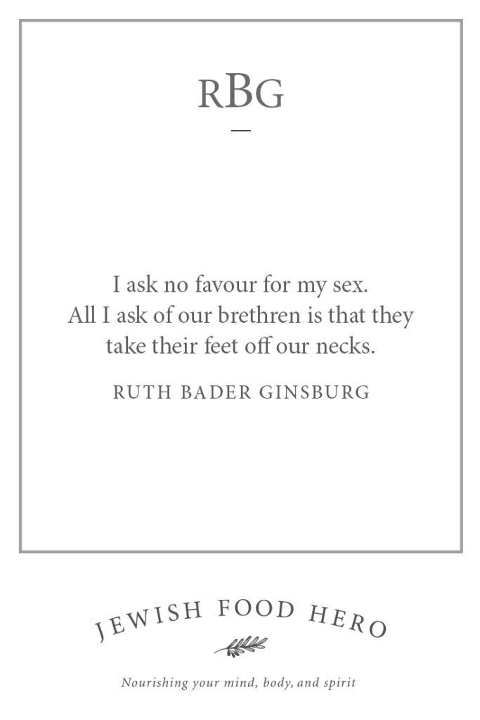 57 quotes on Ruth Bader Ginsburg