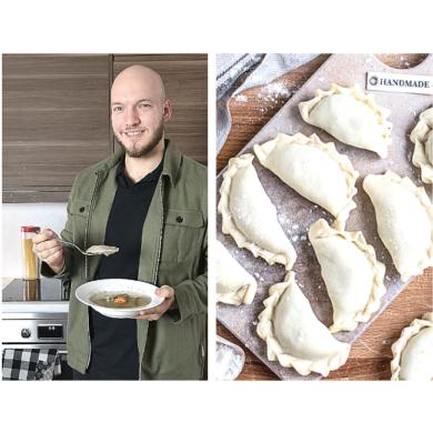 Louis' Mushroom Kreplers