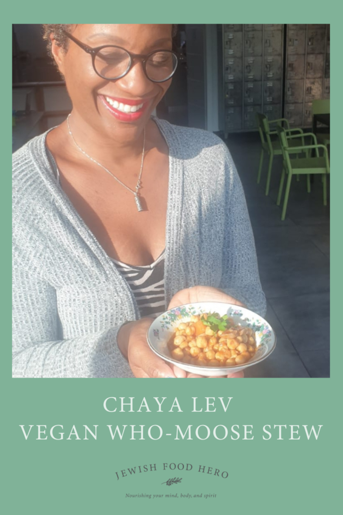 Chaya Lev's Vegan Who-Moose Stew