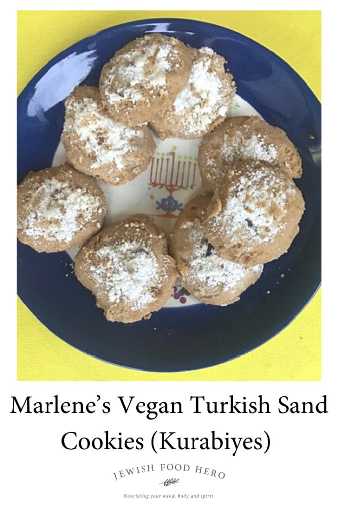 Marlene's Vegan Turkish Sand Cookies (Kurabiyes)