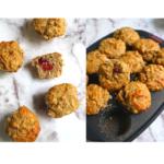 Mini Vegan Spelt Banana Raspberry Muffins