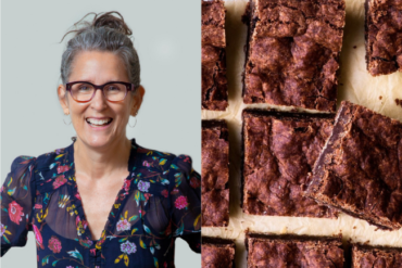 Lisa's Vegan Crackly Brownies