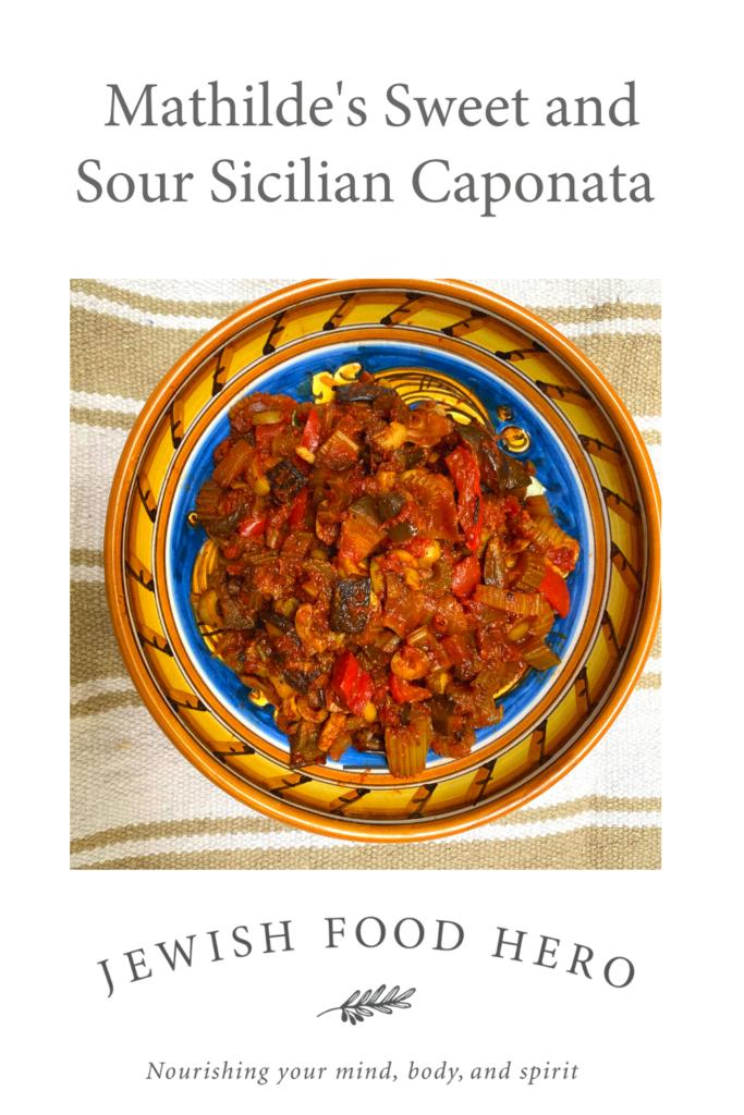 Mathilde's Sweet and Sour Sicilian Caponata